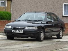 1996 Ford Mondeo 2.5 Ghia X 24v Auto (Neil's classics) Tags: vehicle 1996 ford mondeo 25 ghia x 24v auto 2544cc car