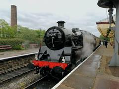 BR Standard Class 4MT 80097 - Ramsbottom (dwb transport photos) Tags: britishrailways lcomotive 80097 ramsbottom eastlancsrailway