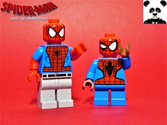 That Spider-Verse Meme (HaphazardPanda) Tags: lego figs fig figures figure minifigs minifig minifigures minifigure purist purists character characters comics comic book books story group super hero heroes superhero superheroes marvel spidey spider man spiderman spiderverse verse into the gwen stacy spidergwen peter b parker miles morales