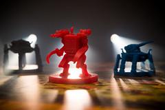 Scythe Mechs in the Limelight (boardgamephotos) Tags: scythe mechs boardgame