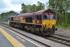 DB Cargo Class 66/0 66187 - Chesterfield (dwb transport photos) Tags: dbcargo locomotive 66187 chesterfield