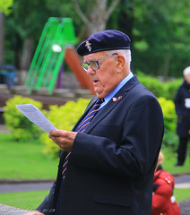 Uppermill D-Day 75 Remembrance Service 5 June 2019 -33 (clowesey) Tags: dday 75 uppermill royal british legion dday75 royalbritishlegion uppermillband oldhamatc aircadets