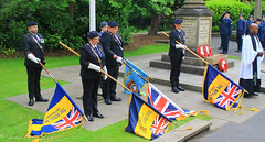 Uppermill D-Day 75 Remembrance Service 5 June 2019 -30 (clowesey) Tags: dday 75 uppermill royal british legion dday75 royalbritishlegion uppermillband oldhamatc aircadets