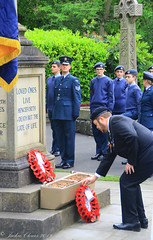 Uppermill D-Day 75 Remembrance Service 5 June 2019 -23 (clowesey) Tags: dday 75 uppermill royal british legion dday75 royalbritishlegion uppermillband oldhamatc aircadets