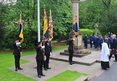 Uppermill D-Day 75 Remembrance Service 5 June 2019 -20 (clowesey) Tags: dday 75 uppermill royal british legion dday75 royalbritishlegion uppermillband oldhamatc aircadets