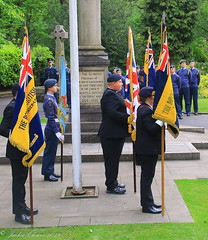 Uppermill D-Day 75 Remembrance Service 5 June 2019 -15 (clowesey) Tags: dday 75 uppermill royal british legion dday75 royalbritishlegion uppermillband oldhamatc aircadets