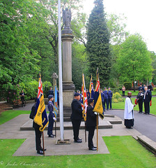 Uppermill D-Day 75 Remembrance Service 5 June 2019 -14 (clowesey) Tags: dday 75 uppermill royal british legion dday75 royalbritishlegion uppermillband oldhamatc aircadets