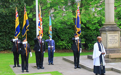 Uppermill D-Day 75 Remembrance Service 5 June 2019 -9 (clowesey) Tags: dday 75 uppermill royal british legion dday75 royalbritishlegion uppermillband oldhamatc aircadets