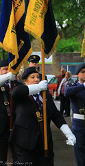 Uppermill D-Day 75 Remembrance Service 5 June 2019 -4 (clowesey) Tags: dday 75 uppermill royal british legion dday75 royalbritishlegion uppermillband oldhamatc aircadets