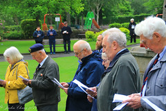 Uppermill D-Day 75 Remembrance Service 5 June 2019 -35 (clowesey) Tags: dday 75 uppermill royal british legion dday75 royalbritishlegion uppermillband oldhamatc aircadets