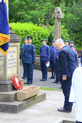 Uppermill D-Day 75 Remembrance Service 5 June 2019 -22 (clowesey) Tags: dday 75 uppermill royal british legion dday75 royalbritishlegion uppermillband oldhamatc aircadets