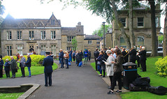 Uppermill D-Day 75 Remembrance Service 5 June 2019 -19 (clowesey) Tags: dday 75 uppermill royal british legion dday75 royalbritishlegion uppermillband oldhamatc aircadets