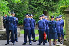 Uppermill D-Day 75 Remembrance Service 5 June 2019 -17 (clowesey) Tags: dday 75 uppermill royal british legion dday75 royalbritishlegion uppermillband oldhamatc aircadets