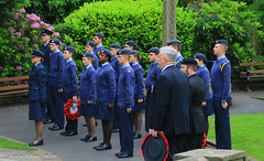 Uppermill D-Day 75 Remembrance Service 5 June 2019 -11 (clowesey) Tags: dday 75 uppermill royal british legion dday75 royalbritishlegion uppermillband oldhamatc aircadets