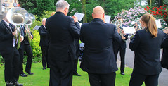 Uppermill D-Day 75 Remembrance Service 5 June 2019 -8 (clowesey) Tags: dday 75 uppermill royal british legion dday75 royalbritishlegion uppermillband oldhamatc aircadets