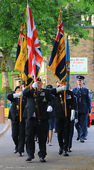 Uppermill D-Day 75 Remembrance Service 5 June 2019 -3 (clowesey) Tags: dday 75 uppermill royal british legion dday75 royalbritishlegion uppermillband oldhamatc aircadets