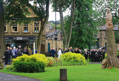 Uppermill D-Day 75 Remembrance Service 5 June 2019 -1 (clowesey) Tags: dday 75 uppermill royal british legion dday75 royalbritishlegion uppermillband oldhamatc aircadets