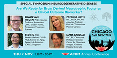 ACRM19 Special Session: Neurodegenerative Diseases 602818 (ACRM-Rehabilitation) Tags: acrmprogressinrehabilitationresearchconference acrmconference acrm annualconference acrm americancongressofrehabilitationmedicine medicalconference medicaleducation medicalassociation medicaltechnology assistivetechnology association rehabilitationresearch rehabilitation research evidencebased evidencepractice continuingeducationcredits cmeceu chicago hiltonchicago geriatricrehabilitation geriatric neurodegenerativediseases neurodegenerative