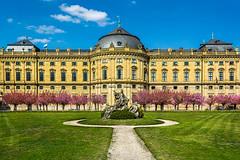 Würzburg Residence (achavtur) Tags: mainriver castle vikingrivercruise germany würzburgresidence würzburg rivers bavaria