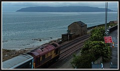 Brunditts - 4th (peterdouglas1) Tags: llanfairfechan brunditts transportforwales wag class67 67016 greatorme a55expressway dbcargo ews northwalescoastrailway