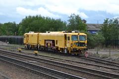 Network Rail Tamper Machine DR73116 - Chesterfield (dwb transport photos) Tags: networkrail plassertheurer tampertrackmachine dr73116 chesterfield