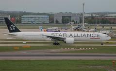 AI 773 VT-ALJ Star Alliance 2 (Spenair777) Tags: air india boeing 777300 773 star alliance london lhr heathrpw heathrow flywinglets 777