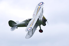 Gloster Gladiator I (Nigel Musgrove-2.5 million views-thank you!) Tags: shuttleworth season premiere old warden bedfordshire 5 may 2019 gloster gladiator i british fighter biplane