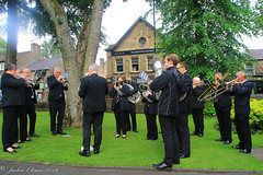 Uppermill D-Day 75 Remembrance Service 5 June 2019 -36 (clowesey) Tags: dday 75 uppermill royal british legion dday75 royalbritishlegion uppermillband oldhamatc aircadets