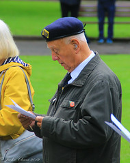 Uppermill D-Day 75 Remembrance Service 5 June 2019 -34 (clowesey) Tags: dday 75 uppermill royal british legion dday75 royalbritishlegion uppermillband oldhamatc aircadets