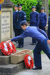 Uppermill D-Day 75 Remembrance Service 5 June 2019 -27 (clowesey) Tags: dday 75 uppermill royal british legion dday75 royalbritishlegion uppermillband oldhamatc aircadets