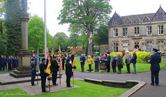 Uppermill D-Day 75 Remembrance Service 5 June 2019 -18 (clowesey) Tags: dday 75 uppermill royal british legion dday75 royalbritishlegion uppermillband oldhamatc aircadets
