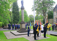 Uppermill D-Day 75 Remembrance Service 5 June 2019 -16 (clowesey) Tags: dday 75 uppermill royal british legion dday75 royalbritishlegion uppermillband oldhamatc aircadets