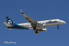 N643QX (320-ROC) Tags: alaskahorizon horizonair horizon n643qx embraer embraer170 embraererj embraererj175lr e75l erj175lr klas las lasvegasmccarranairport lasvegasinternationalairport lasvegasmccarraninternationalairport lasvegasairport lasvegas