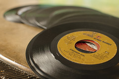 Take Me Back (aaron_gould) Tags: music vinyl hip fun inside joy yellow black nikkor 35mm d7000 home old art bokeh macro