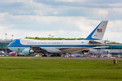 VC-25A 29000 - SAM29 - London Stansted (Mikepaws) Tags: 747 747200 vc25 vc25a aircraft airport boeing military presidentialvisit presidentialtravel 89thairliftwing airforceone sam specialairmission unitedkingdom unitedstates unitedstatesairforce usaf flyingwhitehouse london statevisit 2019 29000 stansted uk europe aviation flight jumbo transport