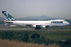 Corsair B747-206B F-GPJM GRO 27/05/1999 (jordi757) Tags: airplanes avions nikon f90x kodachrome kodachrome64 gro lege girona costabrava boeing 747 boeing747 b747200 corsair fgpjm