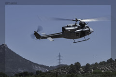 🚁 Agusta Bell 212 Armada Española, FIA 2019, El Yelmo/Los Cortijos-Jaén (Es) (EFRAIN A. JACOME Q.) Tags: verde