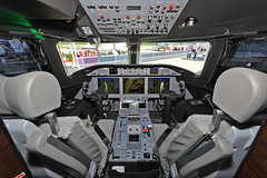 N280GD 23052019 (Tristar1011) Tags: lsgg gva geneva genève cointrin ebace ebace2019 gulfstreamaerospace gulfstreamg280 g280 n280gd cockpit