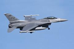 USAF F-16C Fighting Falcon (nickchalloner) Tags: 870233 87233 general dynamics gd lockheed martin f16 f16c fighting falcon 93 93rd fs fighter squadron 482 482nd fw wing fm raf lakenheath royal air force lkz egul usaf usafe united states america
