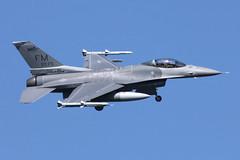USAF F-16C Fighting Falcon (nickchalloner) Tags: 880405 88405 raf lakenheath royal air force lkz egul usaf usafe united states america general dynamics gd lockheed martin f16 f16c fighting falcon 93 93rd fs fighter squadron 482 482nd fw wing fm