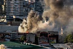 Fire (Oktay A) Tags: canon200d smoke fire yangın cityscape streetphotography city şehir istanbul