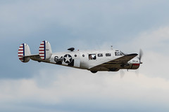 G-BKGL Beech 3TM Expeditor (amisbk196) Tags: airfield aircraft dday aviation flickr amis dday75 unitedkingdom 2019 daksoverduxford uk duxford gbkgl beech 3tm expeditor