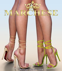 Marchese - kylie X Vanity Event (~MARCHESE~) Tags: maitreya marchese mesh vanity vanityevent belleza secondlife shoes slink heels