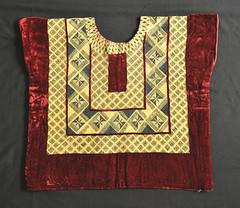 Zapotec Huipil Oaxaca Mexico Textiles (Teyacapan) Tags: huipil mexico oaxaca juchitan zapotec istmo tehuana embroidery velvet ropa clothing