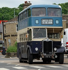 1958 Albion. TWY 8 (Simon W. Photography) Tags: 1958albiontwy8 1958albion bus transport publictransport vehicles classicvehicles vintagevehicles automobiles brighouse1940sweekend brighouse 1940sweekend 1940s calderdale westyorkshire england wartimeevent wartimeevent2019 vintagefestival hairstyle armedforces nostalgic nostalgia fashion vintage festival retro ww2 1940svintage livinghistory history historic war wwi wwii