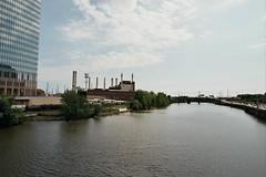 Schuylkill River (Tom Ipri) Tags: filmisnotdead veoliaenergy philly schuylkillriver filmphotography kodakektar100 robertscenterforpediatricresearch philadelphia 35mm canoneosrebel2000 shotonfilm