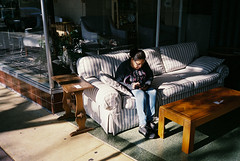 Morning (bingley0522) Tags: olympusxa agfavista400 lodi centralvalley smalltowns furniturestore morninglight autaut