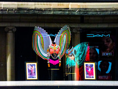 DAM (Steve Taylor (Photography)) Tags: dam dewy matte wings fashion mannequin picture portrait architecture shop store black colourful window chain ladies gb uk england greatbritain unitedkingdom london corset shopwindow jewellery necklace
