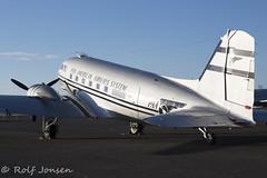N877MG Douglas DC-3 Private Prestwick airport EGPK 24.05-19 (rjonsen) Tags: plane airplane aircraft aviation photoshoot airside ramp apron dakota dc3