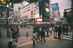 Shibuya Crossing, Shibuya - Tokyo, Japan (nivagyag73) Tags: 2019 advertising building canon city cityscape ef2470f28lusm eos5dmarkiii footpath honshu intersection japan kantōregion path pedestrian pedistriancrossing people road shibuyacity shibuyacrossing shop store street streetscape tokyo tokyoprefecture